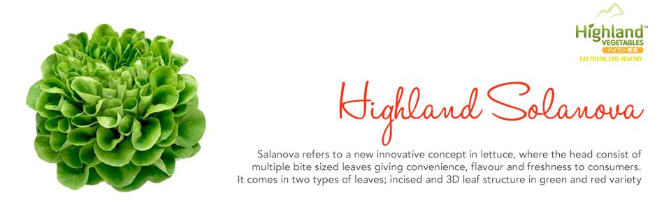 Highland – Our Produce